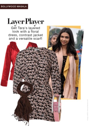 Tamasha Look:Layering with a Dress and a Jacket