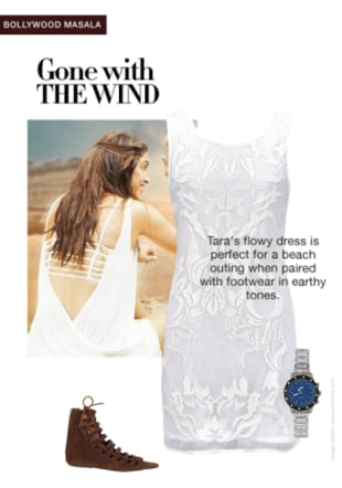 Tamasha Look:white dress
