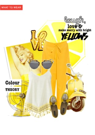 Colour Theory - Yellow
