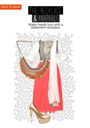 The Necklace & Anarkali