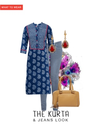 The Kurta & Jeans Look