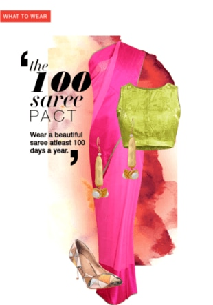 The 100 Saree Pact