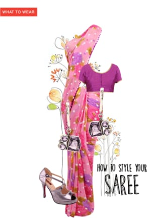 How to style your Saree
