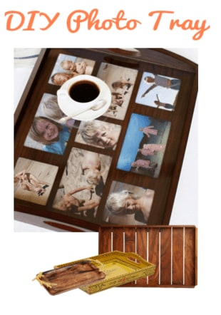 diy photo tray