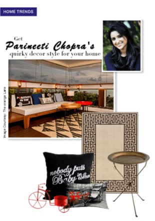 Get Parineeti Chopra's quirky decor style for your home