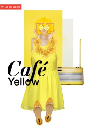 Cafe yellow