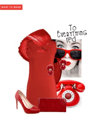 To everything red