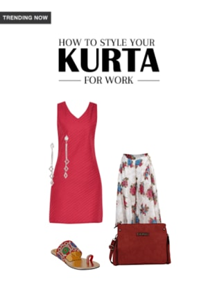 How to Style your Kurta for Work