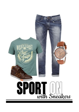 Sport On with Sneakers