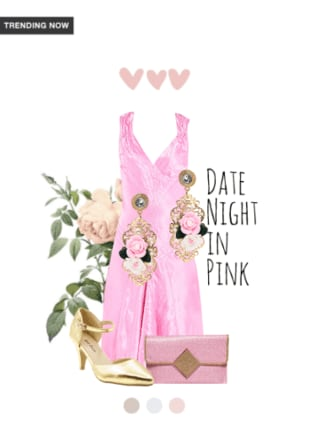 date night in pink