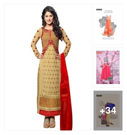 Wedding Look. Online shopping look by Aarushi