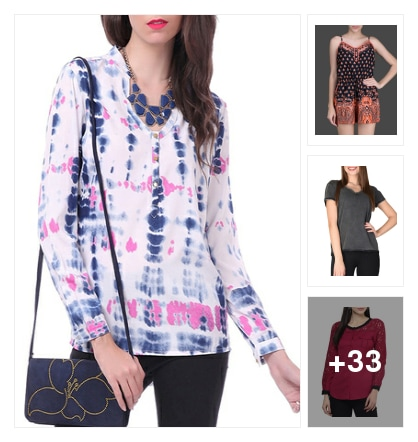 #Trendy Tops . Online shopping look by sapana
