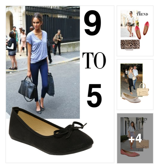 7 Must-have Ballet Flats For Summers . Online shopping look by Nikita