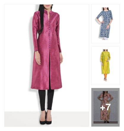 Handpicked Fabulous Designer Kurtas!. Online shopping look by Silvi