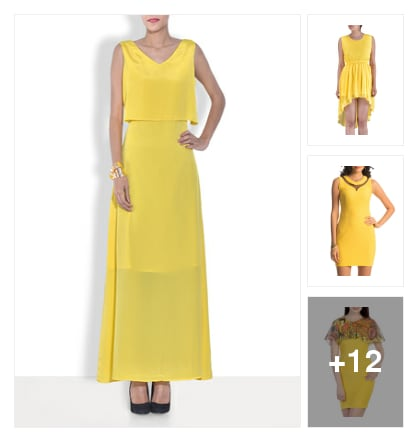 Trending Now : Buttercup-Color of 2016. Online shopping look by Gargi