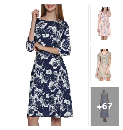 70 Printed Dresses Under Buy 1 Get 1 Free. Online shopping look by Neha