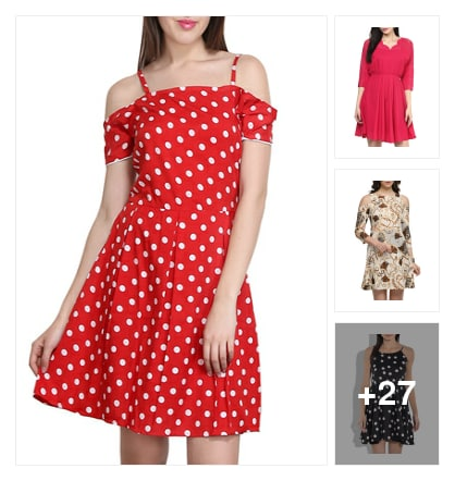 Handpicked Dresses On Buy 1 Get 1 FREE. Online shopping look by Swati