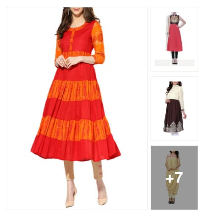 10 Top Trending Festive Kurtas For A Grand Celebration. Online shopping look by greeta