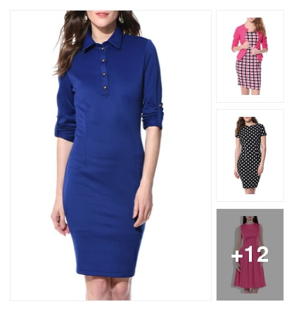 15 Chic Dresses For Office. Online shopping look by Garima