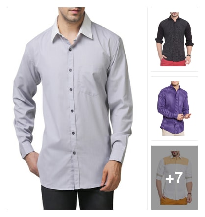 Coolest Casual Shirts to Own. Online shopping look by Mahima