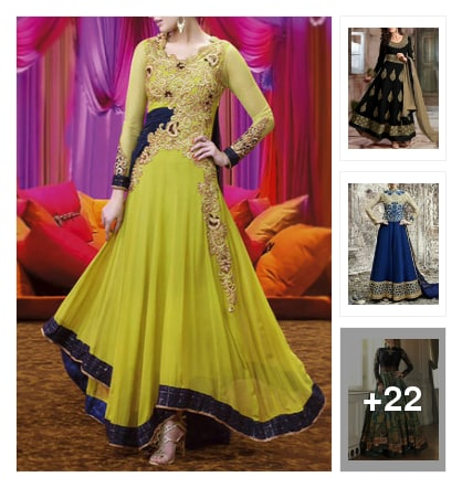 25 Gorgeous Suits For The Pear Shaped Body!. Online shopping look by Neha