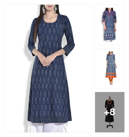 11 Indigo Kurtas You Must Steal!. Online shopping look by Neha