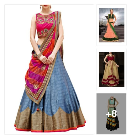 10 Lehengas for your BFF's wedding!!. Online shopping look by Garima