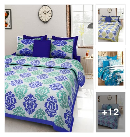 Gorgeous bedsheets . Online shopping look by Sunehri