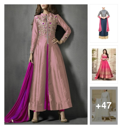 50 Ankle Sweeping Suits To Don This Season!. Online shopping look by Neha