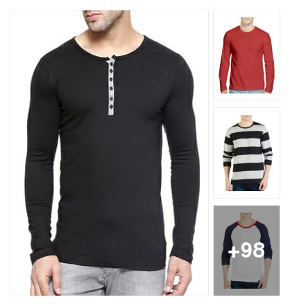 Full Sleeve T-Shirt For Men'S Only ! Baby. Online shopping look by Sonu