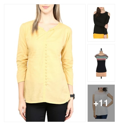 Stylish Look In Top. Online shopping look by Shona