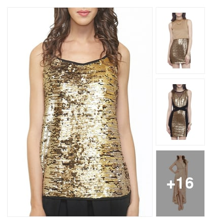 Dhanteras/Gold/Glitters . Online shopping look by THE NEW