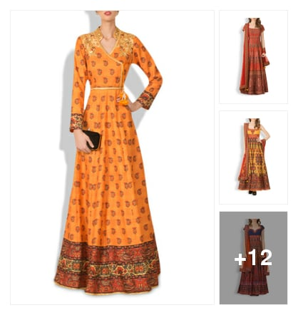15 Opulent Suits And Kurtas For The Ethnic Diva Look This Wedding Season. Online shopping look by saumya