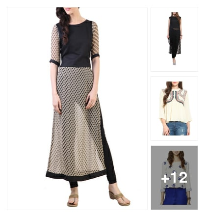 Just U Like For Everyday Casuals Under 1000/-. Online shopping look by shalini