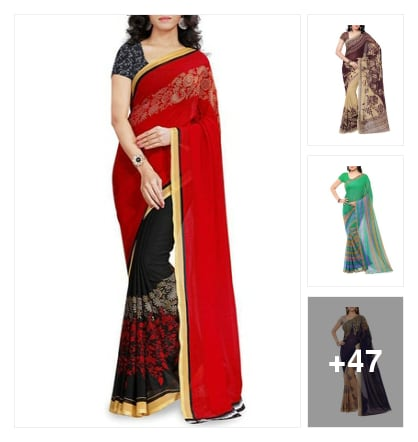 Beautiful sarees under Rs-500 every women tray it. Online shopping look by deepa