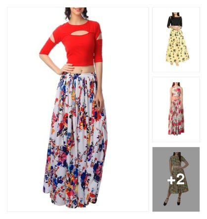 Summer Florals. Online shopping look by Ashwini