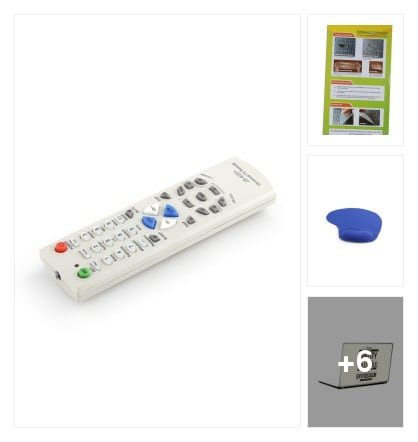Universal Tv Remote N More Accessories . Online shopping look by Sheetal