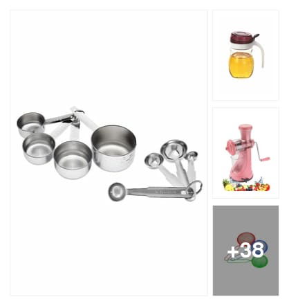 Kitchen tools. Online shopping look by joya