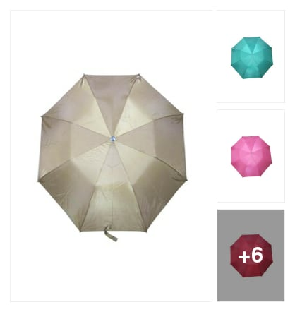 Umbrella story under 500. Online shopping look by Manisha
