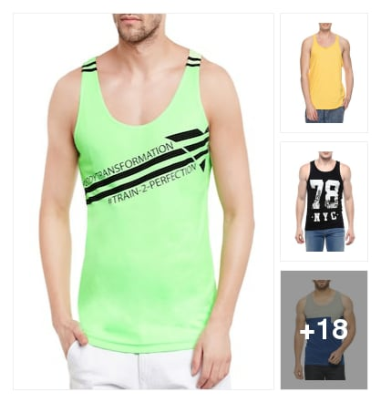 vests for men. Online shopping look by sunitha