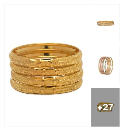 bangles for every day. Online shopping look by SAINATH