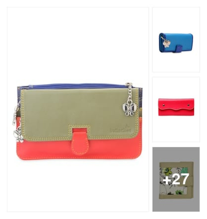 small pouches of simple collection. Online shopping look by sebby