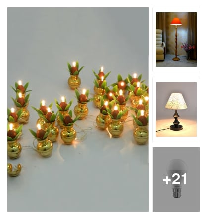 AUSPICIOUS  LIGHTING  FOR  NICE HOME. Online shopping look by india