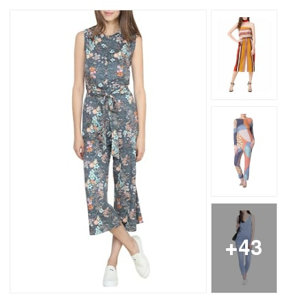 CHARMING JUMPSUITS. Online shopping look by dana