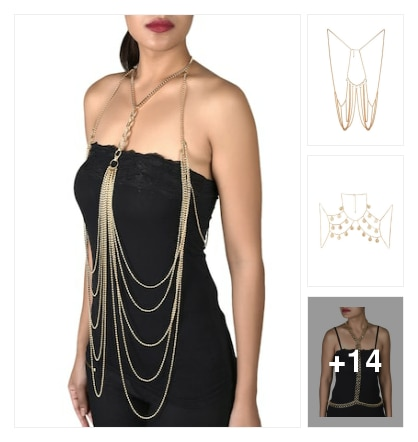 Body Chain Only For Fashionista..... Online shopping look by Sheetal