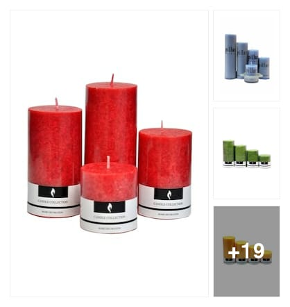 candles. Online shopping look by kavya