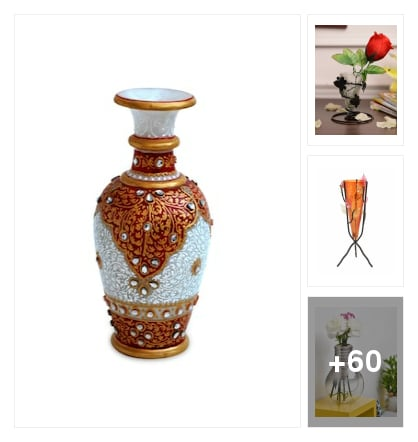 Vases for your living room. Online shopping look by jinglejingle