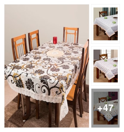 50 dinning table cloth. Online shopping look by r