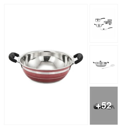 SMART COOKWARE. Online shopping look by cvenkataraghavendra