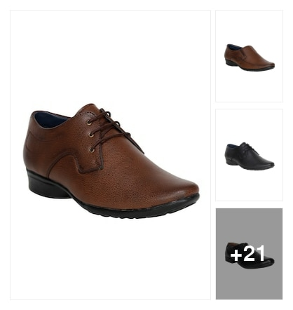 SKILLFUL  FORMAL SHOES  FOR  MEN. Online shopping look by Lakshmi